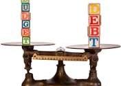 Budget-Debt equilibrium
